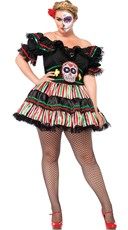 Plus Size Dia De Los Beauty Costume