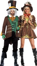 Mad Hatter Couples Costume
