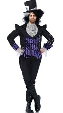 Men's Gothic Mad Hatter Costume