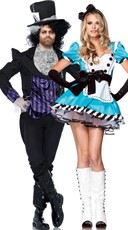 Sexy Alice Couples Costume