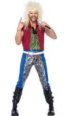 Men's 80's Rocker Costume