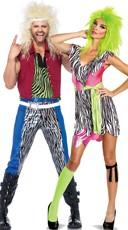 80s Rockers Couples Costume