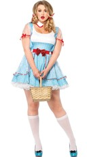 Plus Size Adult Kansas Girl Costume