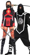 Dragon Ninjas Couples Costume