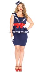 Plus Size Sailor Amy Costume