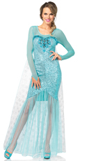 Fantasy Snow Queen Costume