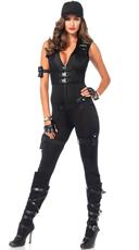 Sexy SWAT Commander Costume