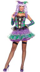 Mardi Gras Sweetie Costume