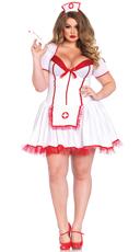Plus Size Sexy Nurse Costume