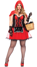 Plus Size Sexy Red Costume
