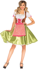 Darling Greta Beer Girl Costume