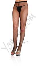 Plus Size Fishnet w/ Back Seam Pantyhose Stockings