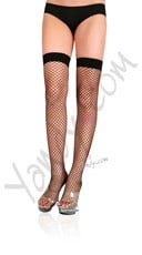 Lycra Industrial Fishnet Thigh Highs