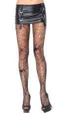 Black Widow Web Pantyhose