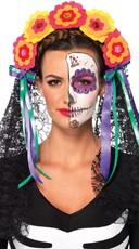 Day of the Dead Flower Headband