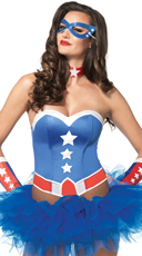 American Hero Costume Kit