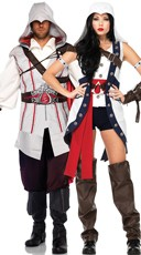 Deluxe Assassins Creed Couples Costume