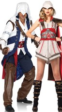 Assassins Creed Couples Costume