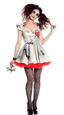 Plus Size Voodoo Doll Vixen Costume