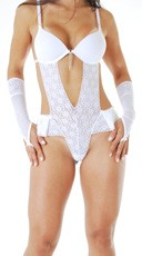 Lace Bridal Lingerie Costume
