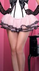 Lace Trim Petticoat