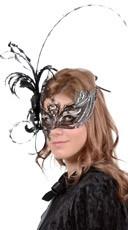 Large Laguna Feather Mask