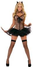 Leopard Deluxe Costume