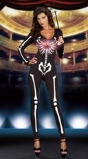 Light-Up Dancing Skeleton Diva Costume