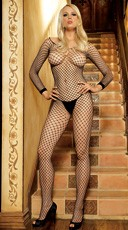 Lycra Net Bodystocking