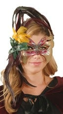 Venetian Styled Foral Mask