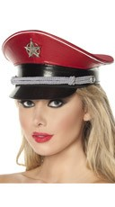Red Officer Hat