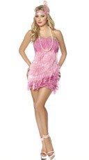 Flamingo Flapper Costume