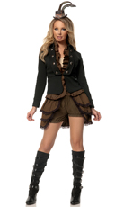Deluxe Steampunk Mistress Costume