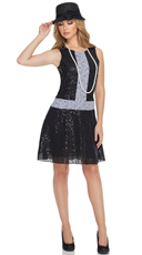 Sequin 1920s Flapper Costume