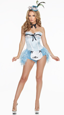 Deluxe Flirty Alice Costume