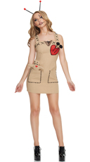 Seductive Voodoo Doll Costume