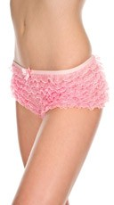 Multi Ruffle Boyshort