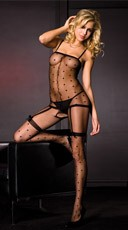 Polka Dot Bodystocking