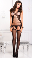String Suspender Bodystocking