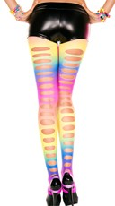 Rainbow Pothole Leggings