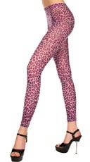 Cheetah Print Footless Tights