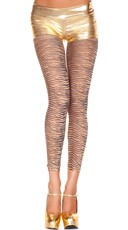 Opaque Tiger Print Leggings