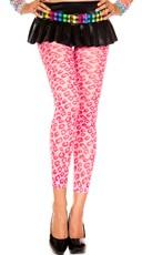 Neon Pink Cheetah Leggings