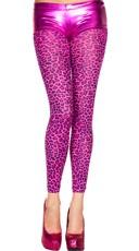 Hot Pink Leopard Leggings