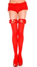 Jingle Bells Thigh Highs