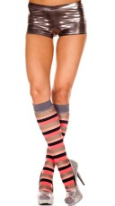 Multi Striped Knee Highs