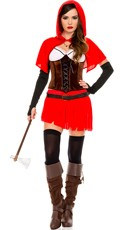 Red Riding Hood Britney Waters Costume