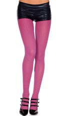 Opaque Checkered Tights
