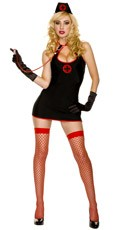 Sexy Keyhole Nurse Costume