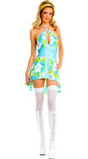 Sexy 70's Go-Go Dress Costume